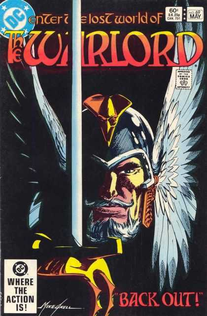Warlord 69 - Dc Comics - Mike Grell - Sword U0026 Sorcery - Fantasy - Back Out - Mike Grell