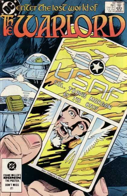 Warlord 78 - Dc - Comics Code Authority - Spaceship - Col Travis Morgan - Usaf - Dan Jurgens