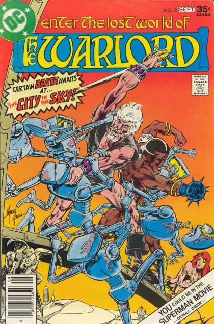 Warlord 8 - Bart Sears, Mike Grell