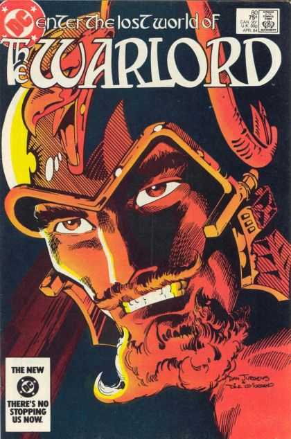 Warlord 80 - Dc - Enter - The - Lost - World Of - Dan Jurgens, Dick Giordano