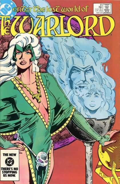 Warlord 81 - Theres No Stopping Us Now - One Woman - Sexy Dress - Skull - The Lost World - Dan Jurgens
