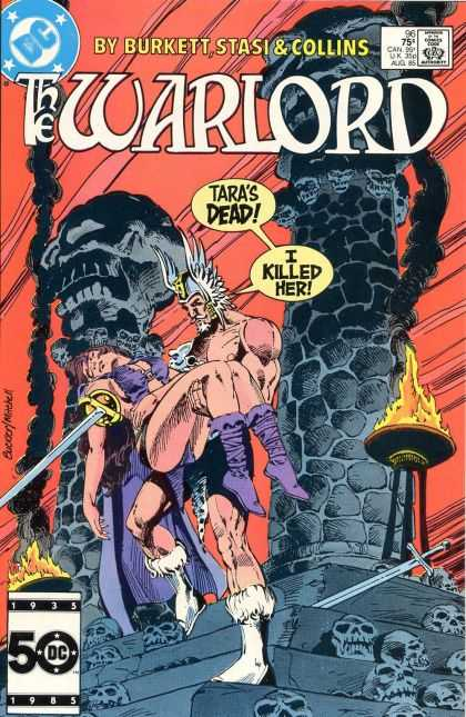 Warlord 96 - Dc - Comics Code - Burkett Stasi - Collins - Taras Dead I Killed Her - Richard Buckler
