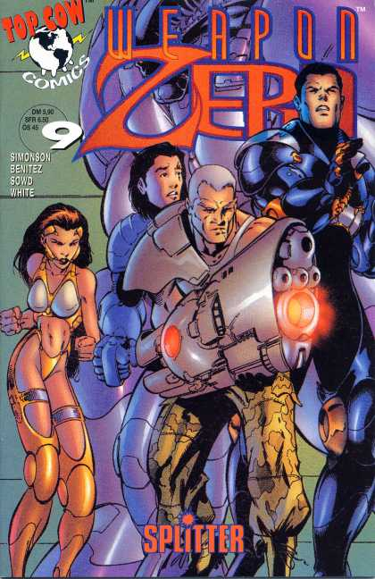 Weapon Zero 10 - Canon - Slitter - Top Cow - Comics - Superheroes - Kevin Conrad