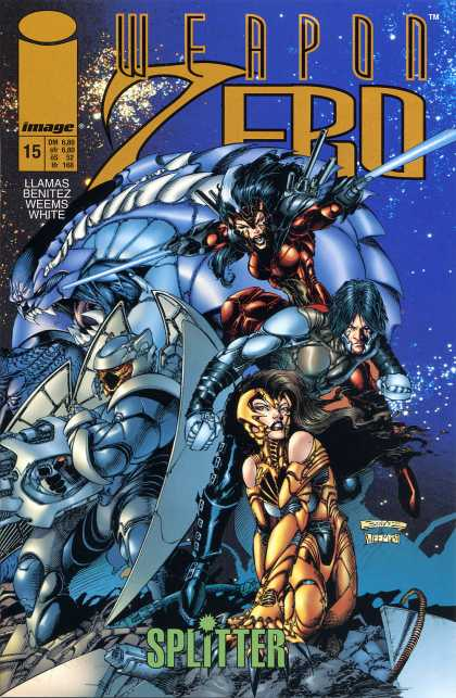 Weapon Zero 16 - Image - Llamas - Benitez - Weems - White