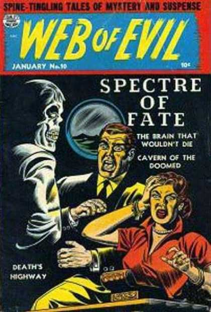 Web of Evil 10 - Skeleton - Man - Woman - Illuminator - Deaths Highway