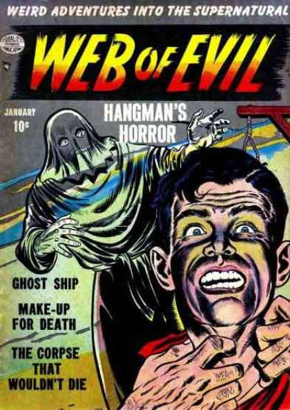 Web of Evil 2 - January - Hangmans Horror - Ghost Ship - Adventure - Make Up For Death