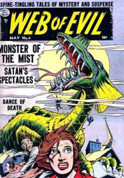 Web of Evil 4 - Monster Of The Mist - Satans Spectacles - Dance Of Death - Brown Hair - Red Shirt