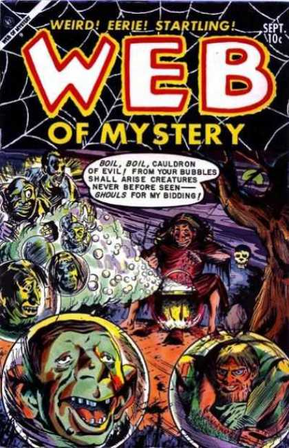 Web of Mystery 20