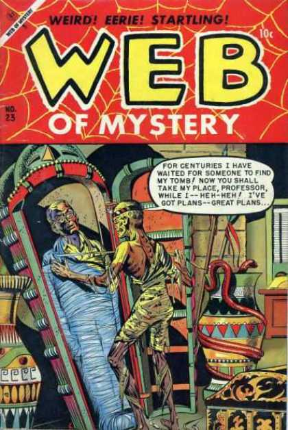 Web of Mystery 23