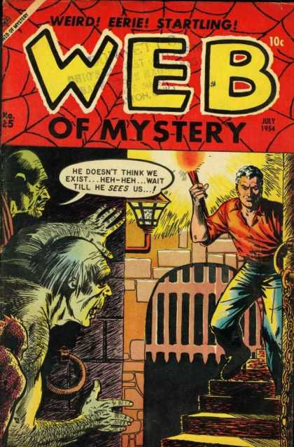 Web of Mystery 25