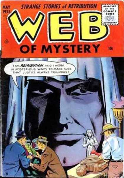 Web of Mystery 28 - Web Of Mystery - May 1955 - Retribution - Mummy - Comics Code