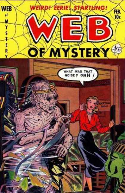 Web of Mystery 7 - Weird - Eerie - Startling - Feb - Ace