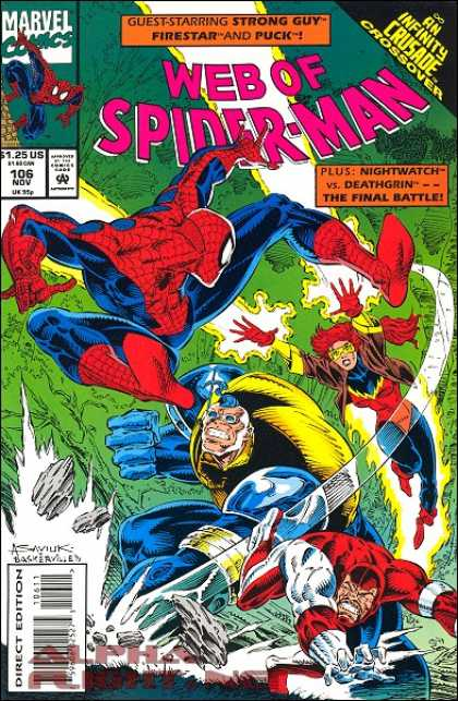 Web of Spider-Man 106
