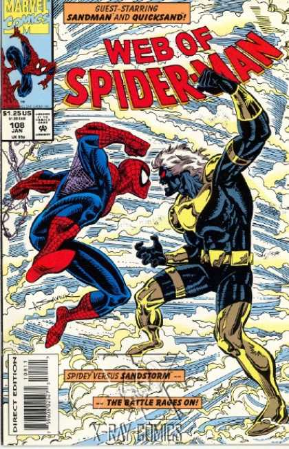 Web of Spider-Man 108