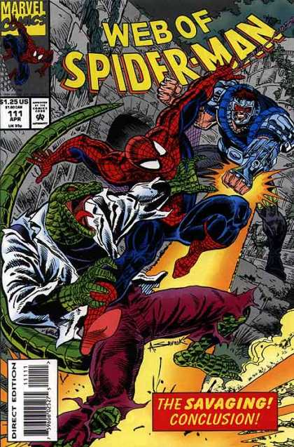 Web of Spider-Man 111