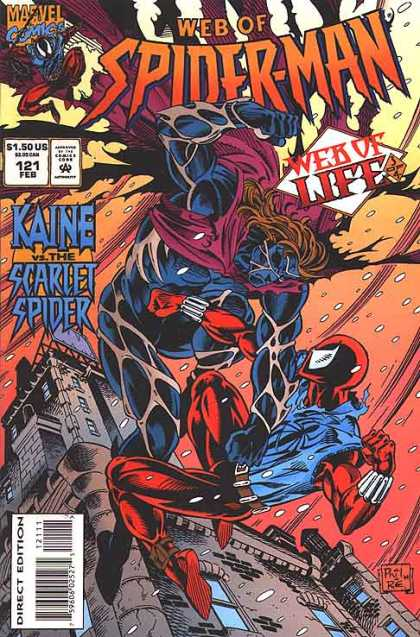 Web of Spider-Man 121