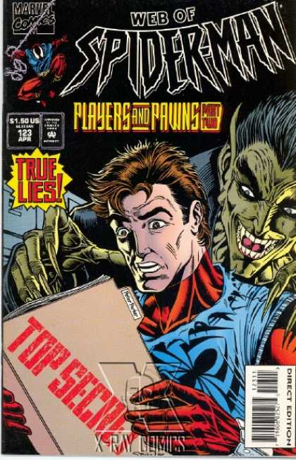 Web of Spider-Man 123 - Spider Man - Dracula - Hair - Files - Nails
