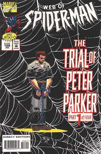 Web of Spider-Man 126 - Spider Webs - Spider - Chains - Jul - Peter Parker - John Romita