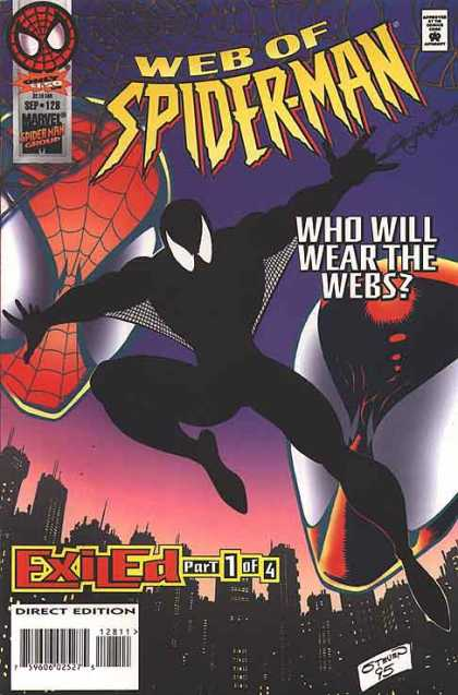 Web of Spider-Man 128 - Web - Spider - Shadow - City - Night