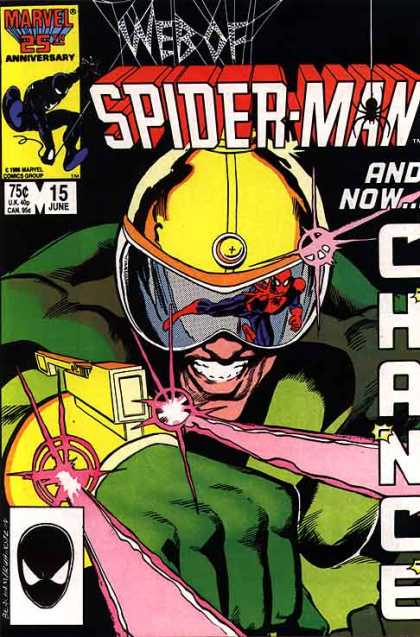 Web of Spider-Man 15 - Helmet - Gun - Moster - Power - Crazy