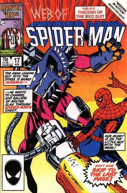 Web of Spider-Man 17 - Web - Cab - String - Gun - Armor