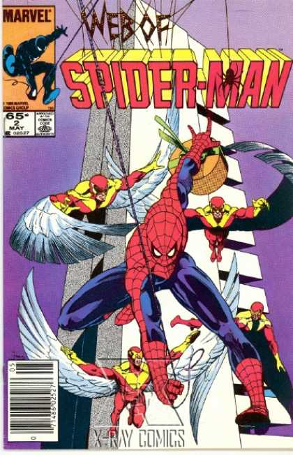 Web of Spider-Man 2 - Marvel - May - 65 - 2 - Angel