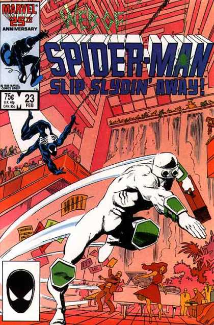 Web of Spider-Man 23 - Knee Pad - Web - Marvel - Elbow Pad - Shield