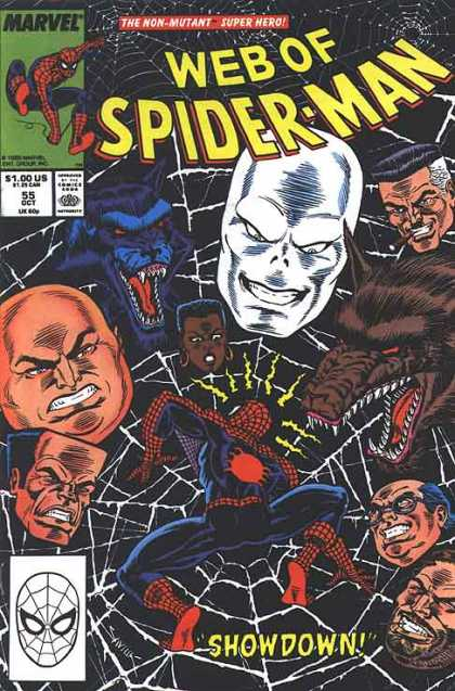 Web of Spider-Man 55