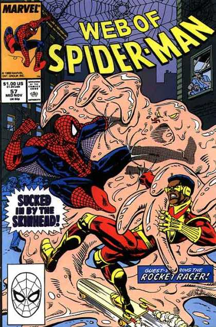 Web of Spider-Man 57