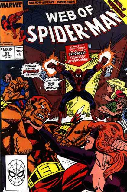 Web of Spider-Man 59