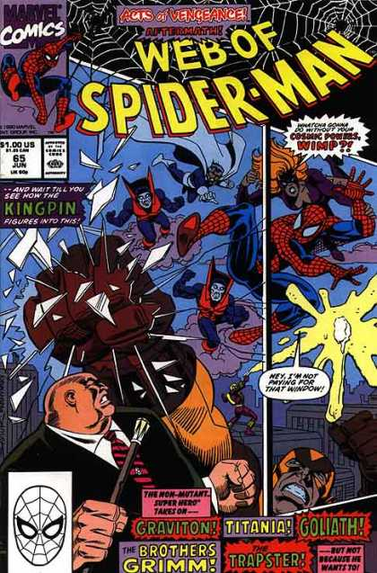 Web of Spider-Man 65