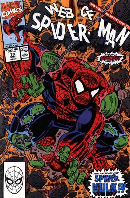 Web of Spider-Man 70