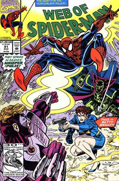 Web of Spider-Man 91