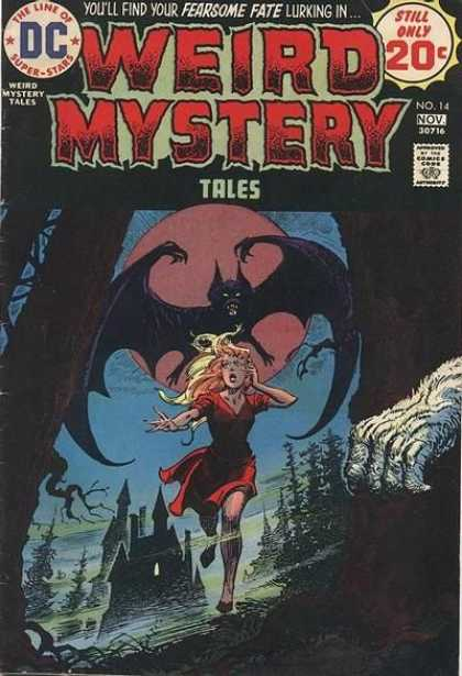 Weird Mystery Tales 14 - Luis Dominguez