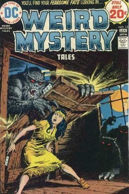 Weird Mystery Tales 15 - Luis Dominguez