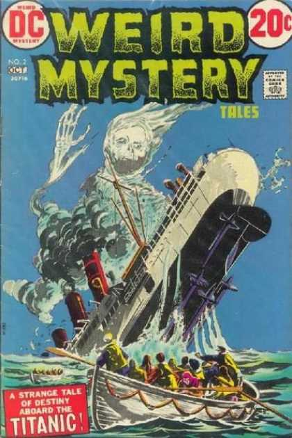 Weird Mystery Tales 2 - 20 Cents - Sinking Ship - Ghost - Boat - Survivors