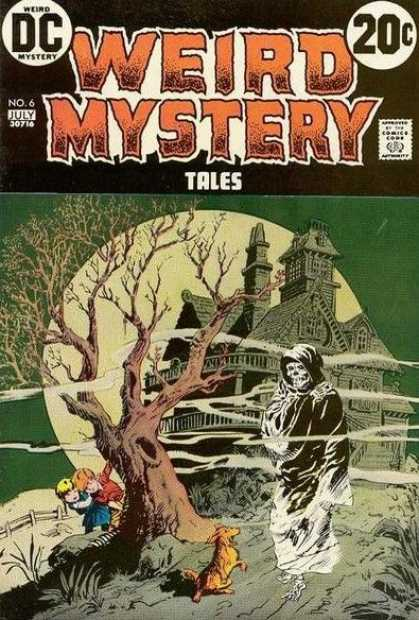 Weird Mystery Tales 6
