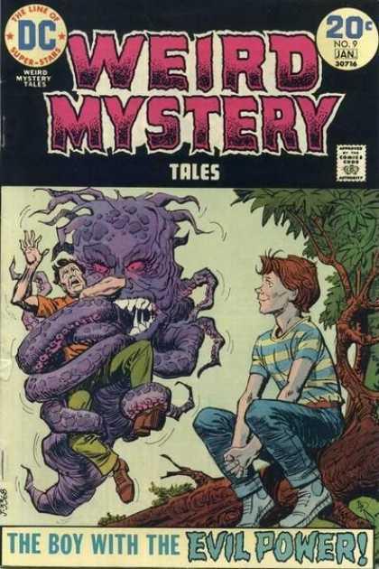Weird Mystery Tales 9