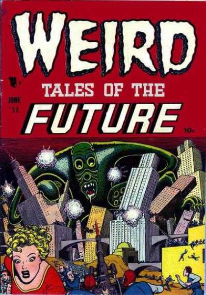 Weird Tales of the Future 2