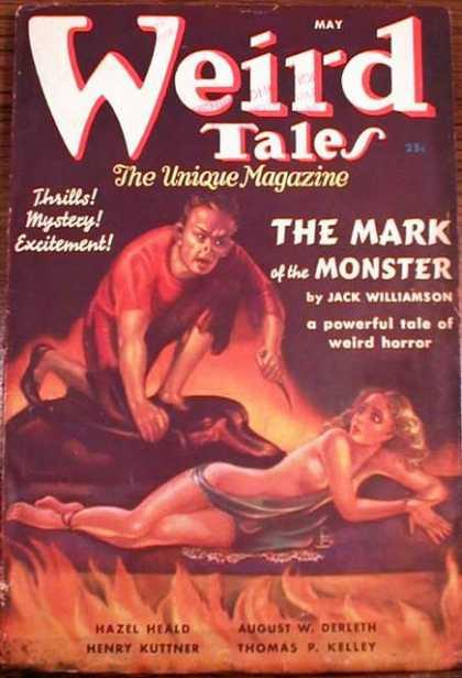 Weird Tales 121