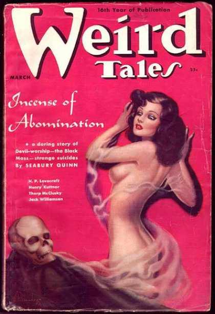 Weird Tales 128 - Skull