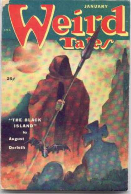 Weird Tales 165 - Bat - Spear