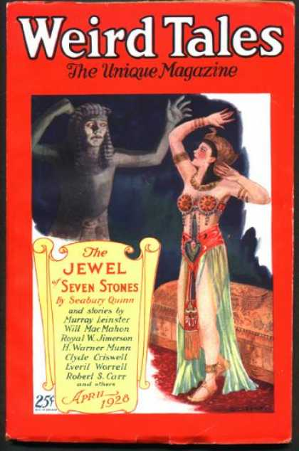 Weird Tales 32 - Egypt - Sphinx - Cleopatra
