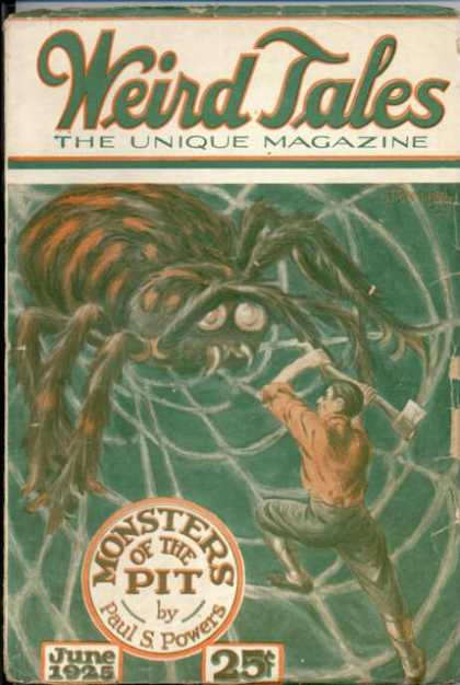 Weird Tales 9 - Spider - Axe - Man - Web