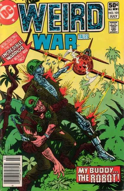 Weird War Tales 101 - Dick Giordano, Ross Andru