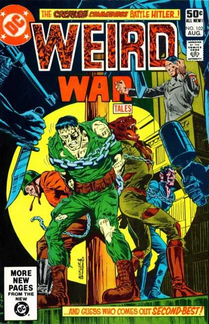 Weird War Tales 102