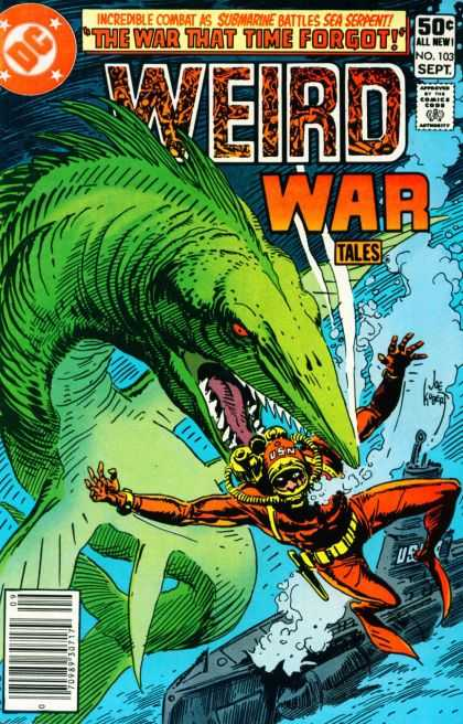 Weird War Tales 103 - Joe Kubert