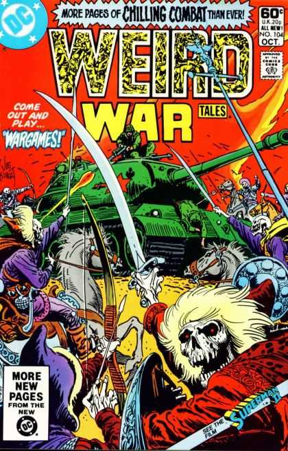Weird War Tales 104