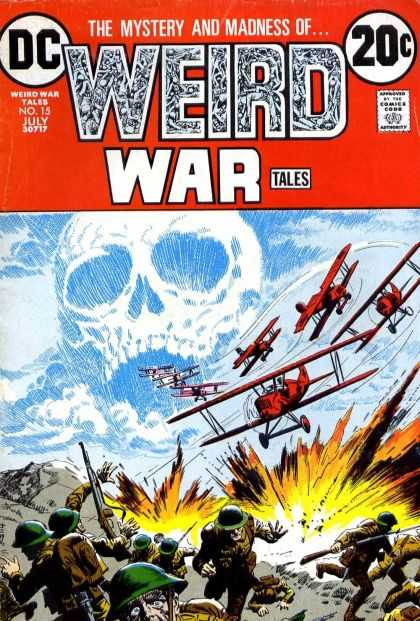 Weird War Tales 15