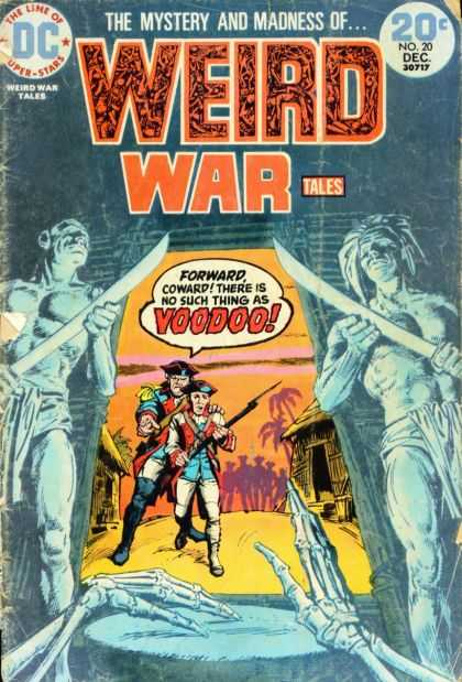Weird War Tales 20 - 20 Cents - Weapon - Speech Bubble - Bones - Drum